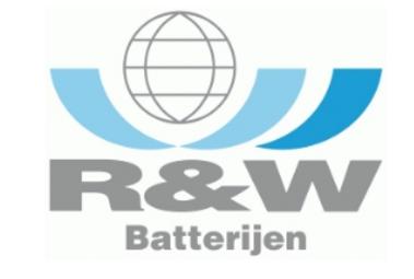 Logo R&W Batterijen BV