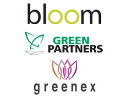 Logo Bloom | Green Partners | Greenex