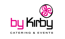 Logo by Kirby catering & events