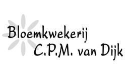 Logo Bloemkwekerij CPM van Dijk