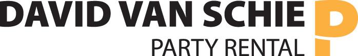 Logo David van Schie party rental