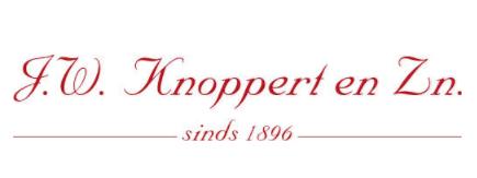 Logo J.W. Knoppert & zn.