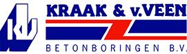 Logo Kraak & van Veen Betonboringen B.V.