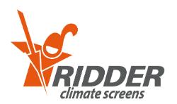 Logo Ridder Climate Screens