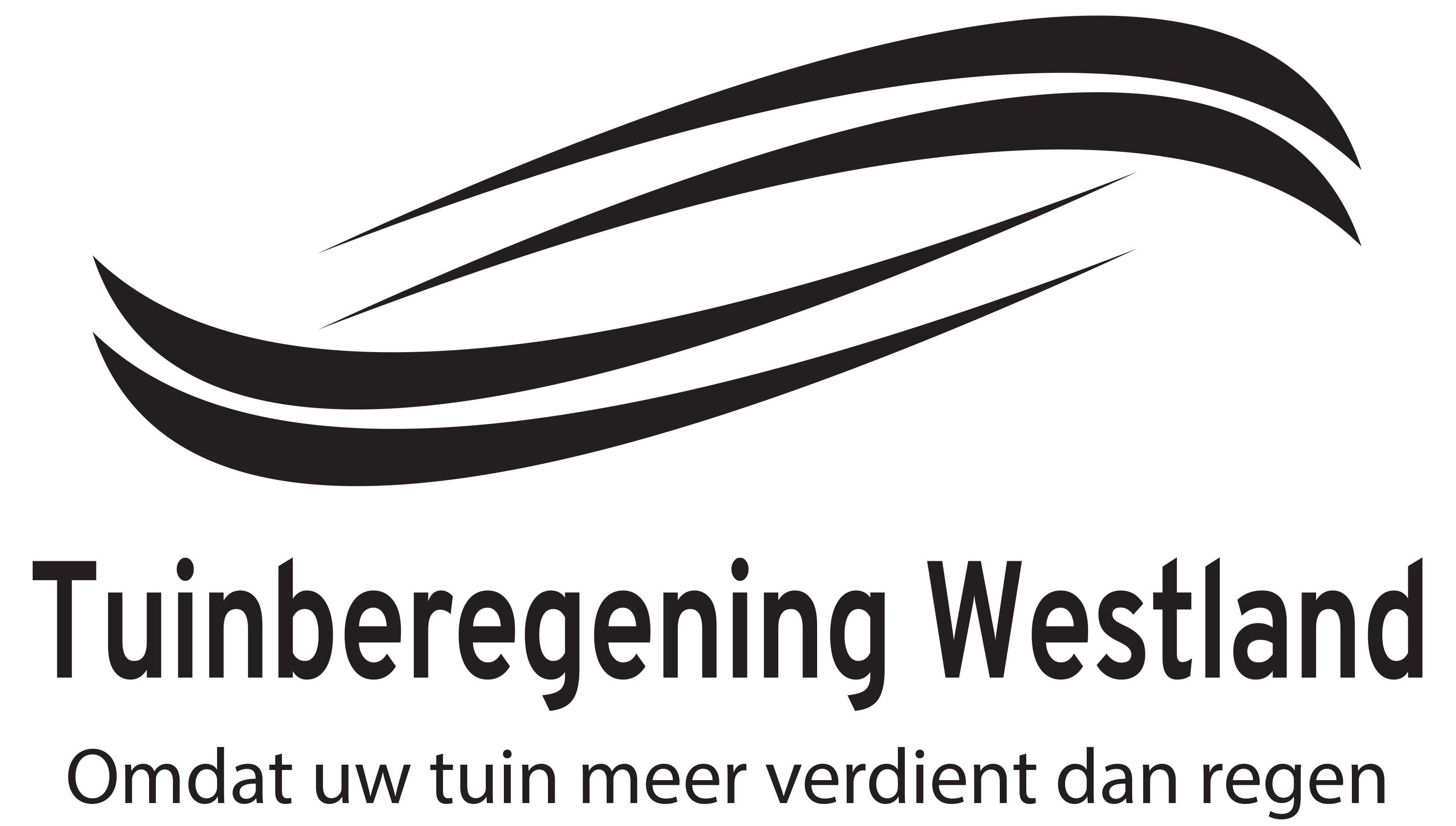 Logo Tuinberegening Westland
