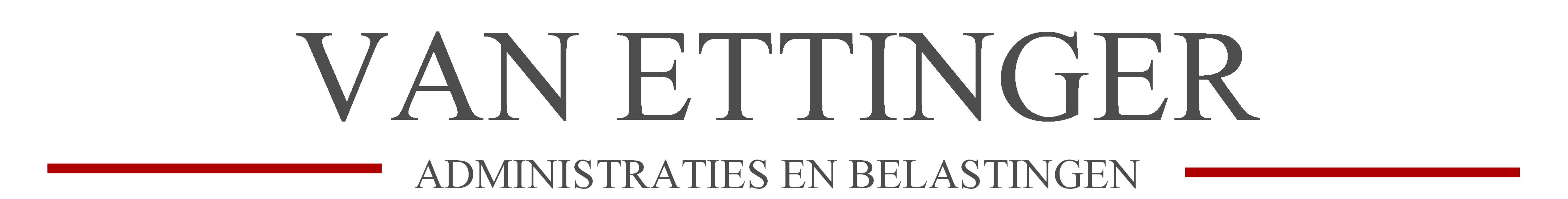 Logo Van Ettinger Administraties en Belastingen